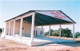 Open Auditorium developed at Karodi village through MLA Fund of Rajendra Darda.