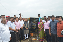 Rajendra Darda at inauguration of Development Works at Kamal Talao, Aurangabad