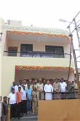 Rajendra Darda at a programme to inaugurate Police Chowky constructed from MP Vijay Darda's fund in Aurangpura