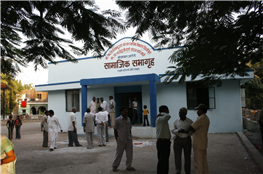 Community Centre at Laxmi Colony developed from MP Fund of Vijay Darda