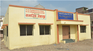 Community Centre (Shadikhana) built in Rehmaniya Colony from the MP fund of Vijay Darda.