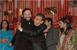 Rajendra Darda with Union Minister for environment and forest Prakash Javdekar, New Delhi.